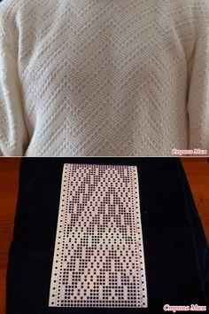 Мужской свитер. - Машинное вязание - Страна Мам