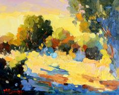 Summer Morning (Oil Painting by Malcolm Dewey) Painting Gallery, Fine Art Gallery, Large Painting, Morning Light, Paintings For Sale, Oil On Canvas, Colour Therapy, Africa, Instagram Summer