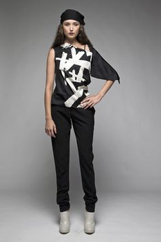 Taylor 'Follow the line' collection, Winter 2013 www.taylorboutique.co.nz Taylor Boutique - Mestic Top