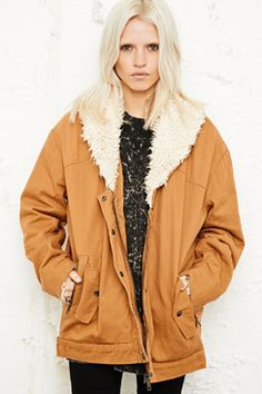 Women's | Clothing | Jackets  Coats at Urban Outfitters  Cosy!
