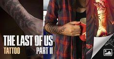 Tatuagem da personagem foi um dos elementos que chamaram atenção no trailer. The Last Of Us, Edge Of The Universe, Trailer, Facebook, Games, Tattoos, Character, Tattoo, Plays