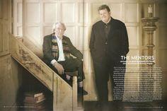 Dumbledore and Hagrid