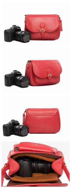 HANDMADE PU LEATHER DSLR CAMERA BAG SLR CAMERA CASE 117 Leather Gifts, Leather Bags Handmade, Handmade Bags, Pu Leather, Dslr Camera Bag, Camera Case, Leather Camera Bag, Leather Backpack, Fashion Handbags