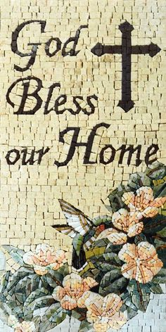 Home Blessing Must Have Mosaic Decor