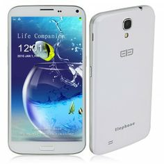 Elephone P6S Smartphone MTK6592 2GB 16GB Android 4.2 6.3 Inch OTG Air Gesture- White