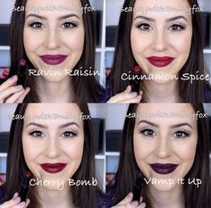 I finally got all the shades of the Wet n Wild Megalast lipsticks and I wanted to share with you this lip swatch video! I absolutely love the Wet n Wild Mega. Love Makeup, Beauty Makeup, Makeup Looks, Hair Makeup, Hair Beauty, Mua Makeup, Hair Without Product, Wet N Wild Lipstick, Shopping
