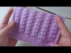 Ladies Cardigan Knitting Patterns, Beginner Knitting Patterns, Knitting Stiches, Knitting For Beginners, Knit Patterns, Baby Knitting, Stitch Patterns, Crochet Beanie Pattern, Crochet Yarn