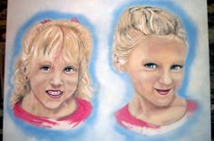 Sisters... on large canvas