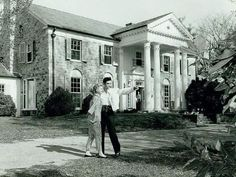 Exactly 58 years ago on March 16th 1957, Elvis' parents found #Elvis his beloved home! TCB and TCE! #Elvis #Graceland