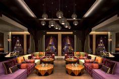 Argan Authentic Moroccan Restaurant at the Al Jasra Boutique Hotel, Souq Waqif, Doha, Qatar. #SouqWaqif #Doha #Qatar #Hotel