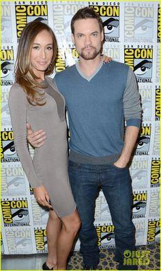 Maggie Q & Shane West: 'Nikita' at Comic-Con!