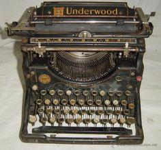Maquina de escribir Underwood USA