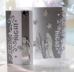 Die'sire Edge'ables Only Words- #Christmas collection from Crafter's Companion #crafterscompanion