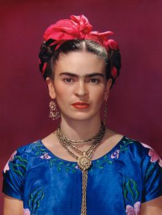 """""""Mirror, Mirror,"""" at Throckmorton Fine Art, includes 40 images of Kahlo taken by more than a dozen photographers."""