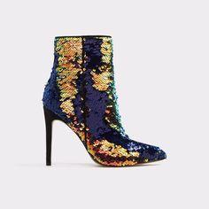 Kearia Black Multi Women's Boots