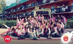 Bienvenido grupo #rojoF16!!   Ya estamos disfrutando de #Disney!