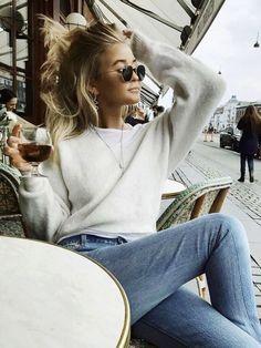 Sweater weather cozy!