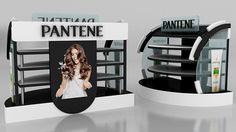 pantene & head&shoulders stand on Behance