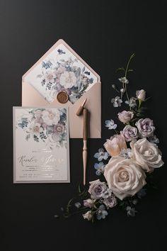WEDDING INVITATIONS watercolor 11/NOKal/z #howtowordweddinginvitationsstyle