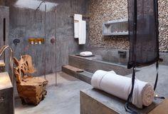 Areias do Seixo hotel Overview - Porto Novo - Torres Vedras - Portugal - Smith hotels (Tree room bathroom)