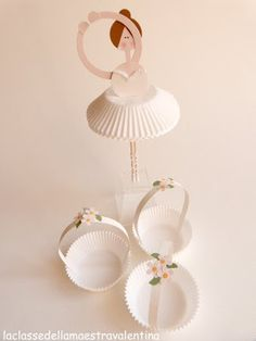 ballerina party decor - charming - great easy to follow pictures for instructions even though not in English - La classe della maestra Valentina