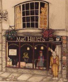 Mad Hatters tea rooms in Launceston!   #cornwall Follow us @coeliacin on twitter.