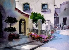 David Becker watercolor