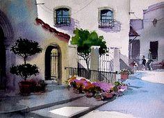 David Becker watercolor