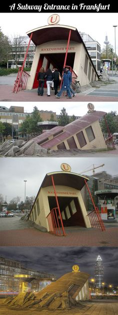 The Best Subway Entrance In The World...
