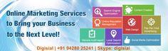We provide #onlinemarketing services to bring your #business to the next level. Visit us at www.digisial.com #socialmedia #socialmediamarketing #SEO #digitalmarketing #digisial