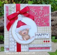 Such a cute card by Lorraine Aquilina for Simon Says Stamps Stamptember 2013.