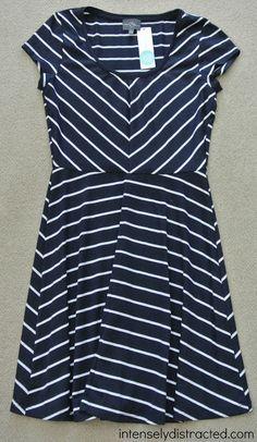 Stitch Fix | Market & Spruce - Spencer Striped Jersey Dress