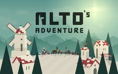 This is some gameplay footage for the iOS and Android snowboarding game Alto's Adventure by Snowman. It shows gameplay of Alto, Maya, Paz, Izel, Felipe & Tup. Windows 10, Apple Tv, Alto Adventure, Beach Adventure, Adventure Game, Snowboarding Games, Xbox, Web Design, Game Design