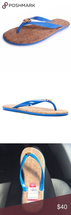 Michael kors Blue jelly flip-flops This are perfect for any occasion. MICHAEL Michael Kors Shoes Sandals