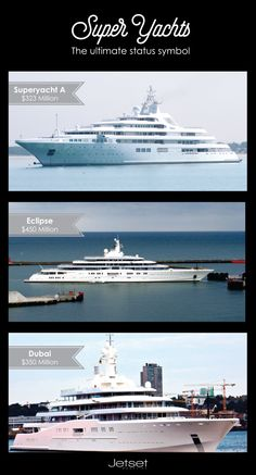 Which one is your favorite #JetsetMag #superyacht? See more #megayachts here: bit.ly/JetsetMagYachts