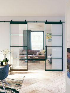 60 Ideeen Over Stalen En Glazen Deuren Huis Interieur Glazen Deur Binnendeuren