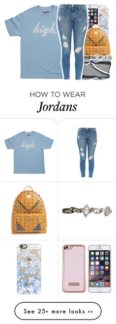 """""""•"""" by abigail-petion on Polyvore featuring Casetify, Ted Baker, MCM, maurices and Frame Denim"""