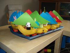 Afbeelding School Treats, 2nd Birthday, Ideas Para, First Birthdays, Wedding Decorations, Presents, Fruit, Children, Food