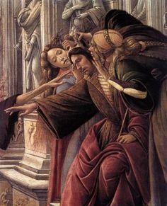 Sandro Botticelli - Renaissance - (detail) Calumny of Apelles, 1494 - Florence Sandro, Giorgio Vasari, Italian Renaissance Art, Renaissance Paintings, Italian Paintings, Classic Artwork, Italian Artist, Religious Art, Monet