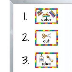 Task Order Management Magnets Really Good Stuff, Teacher Supplies, 2 Colours, Magnets, Management, Color, Colour, Colors