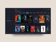 Daily UI Challenge #025 - Tv App by Udara
