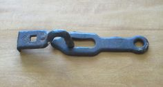 Architectural Salvage Hand Forged Cast Iron 2 Piece Gate by Alveta, $35.00