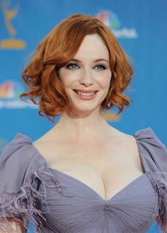 Christina Hendricks Photos Photos - Actress Christina Hendricks arrives at the Annual Primetime Emmy Awards held at the Nokia Theatre L. Live on August 2010 in Los Angeles, California. Christina Hendricks, Taurus, Beautiful Christina, Beautiful People, Beautiful Women, Mature Redhead, The Emmys, Girls With Red Hair, American Women