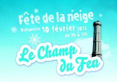 Retrouvez-nous à la Fête de la Neige du Champ du Feu le 10 février 2013 !