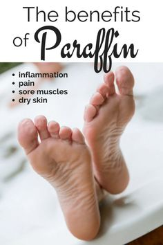 The perfect add on for an esthetician. Have you ever wondered How paraffin helps cracked heels? #crackedheels #paraffin