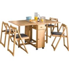 Space Saving Dining Table Space Saving And Dining Sets On Pinterest