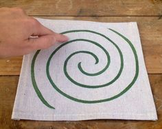 Finger Labyrinth, for the chill out zone. Have a certain number of cards kids can use a week to enter the chill out zone