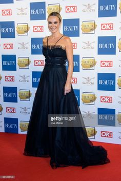 #yolan #cris #black #dress #strapless #high #fashion #couture #desing #red #carpet #amanda #holden #tv #night #out