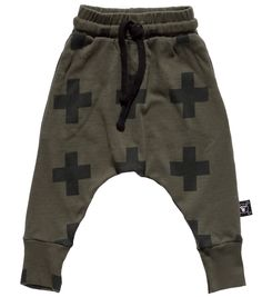Nununu Olive Plus Baggy Pants  - from the SS15 range - online at www.alittlebitofcheek.com.au - Yes we ship internationally