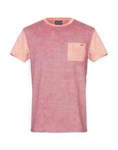Scotch & Soda T-shirts In Deep Purple Scotch Soda, Deep Purple, Round Collar, Short Sleeves, Stripes, Mens Fashion, Mens Tops, Cotton, T Shirt